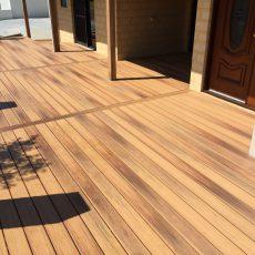 Golden Teak - Composite Decking Perth | Duralife Decking